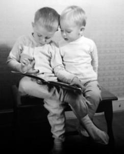 2 boys reading 3