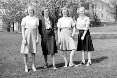 Fran Cornman and 3 Sisters