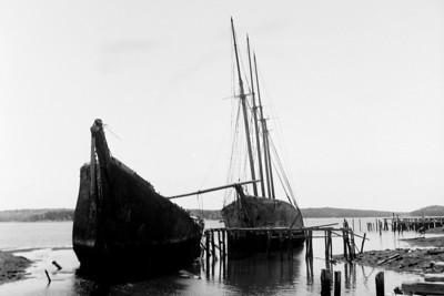 abandoned sailing ships