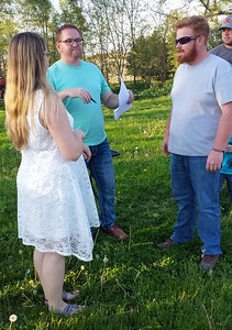 Jenna Kaye Ann Bengtson Daniel John Bulling  Rehersal May 5, 2017