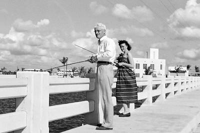 akb and william wallis fishing in Miami