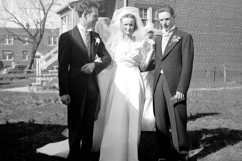 George and Louise Szmanski wedding 4