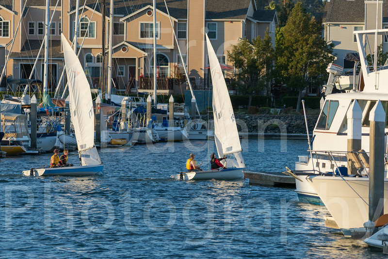 Sail Boat Racing Benincia Friday Night-252