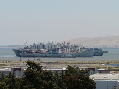 2008 Mothball Fleet along I680 in Benicia