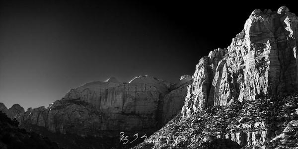 Zion Mountain Panorama