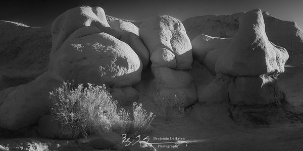 Goblin Valley B&W