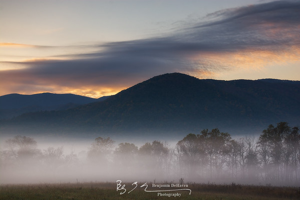 Cades Cove Blue Hour