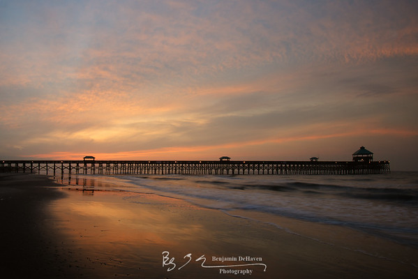 Morning At Folly Beach