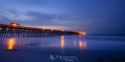 Blue Hour At Folly