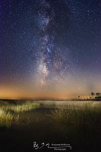 Milky Way From Hooper's Island