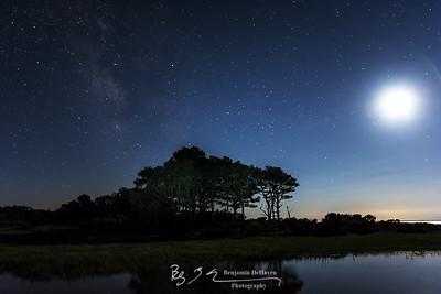 Moon Over Hooper's Island