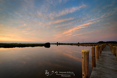 Delaware Marsh Sunsets