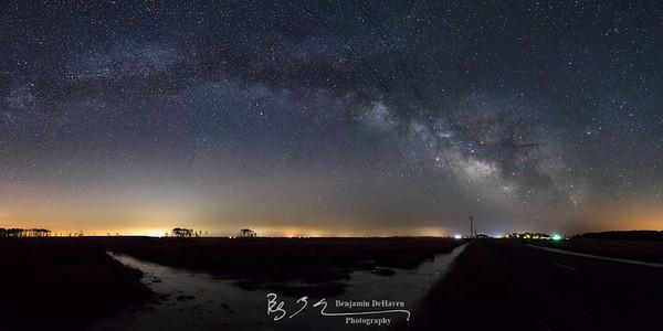 Hooper Islands Milky Way