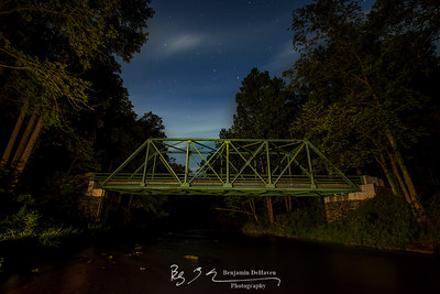 Falls Road Bridge Under The Stars