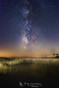 Milky Way From Hooper's Island
