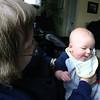 Benjamin and Grandma Faye exchange wry looks