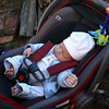 Stroller time is snooze time
