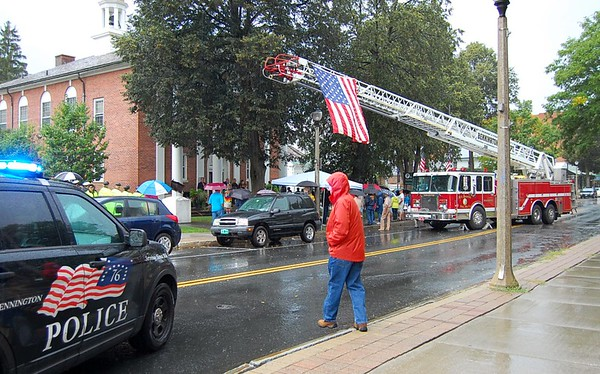 Bennington Reflects on Sept. 11 at Remembrance Gathering