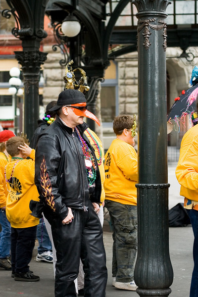 Mardi Gras Parade in Pioneer Square