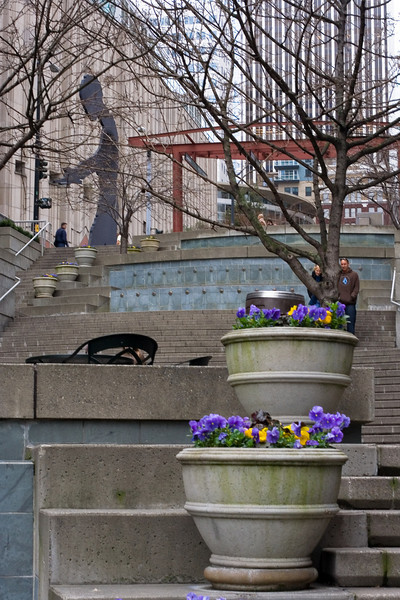 "The Seattle Art Museum from the Harbor Steps<br> <p style=""text-align: center; color: #777777"">- Entered in Seattle Shootout -</p>"