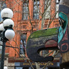 "Totem Pole in Pioneer Square<br> <p style=""text-align: center; color: #777777"">- Made it to second round of voting in Seattle Shootout -</p>"