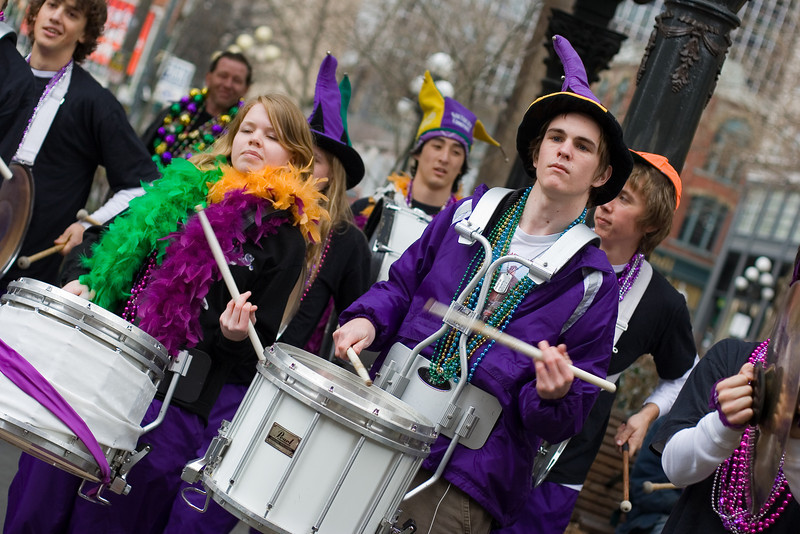 "Mardi Gras Parade in Pioneer Square<br> <p style=""text-align: center; color: #777777"">- Entered in Seattle Shootout -</p>"