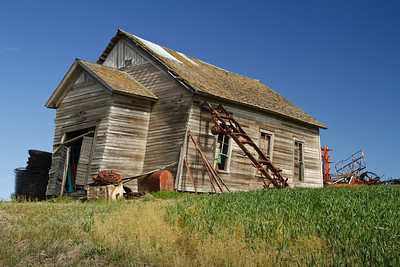 Dilapidated house in the Palouse