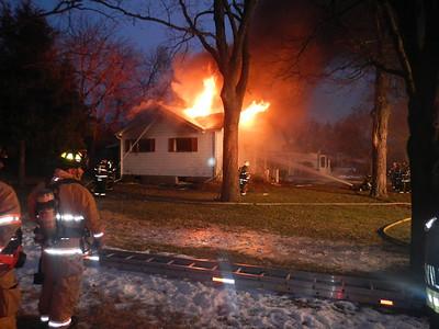 Bensenville Box Alarm Fire 2-12-2013