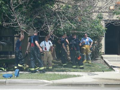 Bensenville Dumpster fire, 7-16-2013