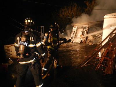 BensenvilleFPD garage fire, 9-29-2015
