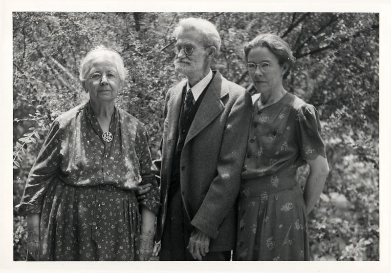 Claudine, Will and Hazel Benschoff