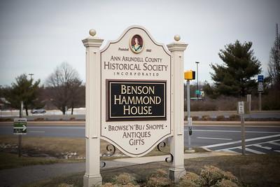 Benson Hammond House 02/20/2016