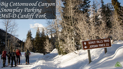 Big Cottonwood Canyon Snoplay rec area