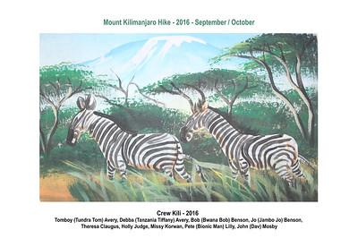 2016 - Benson Travel - Africa - Tanzania Kilimanjaro