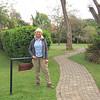 2016-09-24 Benson Tanzania Africa (Sat) Arusha - Legendary Lodge - Jo at Katanga sign
