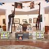 2016-09-24 Benson Tanzania Africa (Sat) Arusha - Cultural Ctr - giraffes chairs