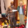 2016-09-24 Benson Tanzania Africa (Sat) Arusha - Legendary Lodge - Elli Jo checking equipment in suite dressing room