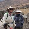 2016-09-28 Benson Tanzania Africa (Wed) Kilimanjaro Day 04 Barranco Camp - Debba Holly at Lava Tower