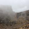 2016-09-28 Benson Tanzania Africa (Wed) Kilimanjaro Day 04 Barranco Camp -  Lava Tower looking back w fog