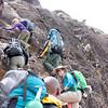 2016-09-29 Benson Tanzania Africa (Thu) Kilimanjaro Day 05 Barranco Wall - Debba near top 01