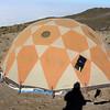 2016-09-29 Benson Tanzania Africa (Thu) Kilimanjaro Day 05 Karanga Camp tent w solar panel