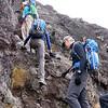 2016-09-29 Benson Tanzania Africa (Thu) Kilimanjaro Day 05 Barranco Wall - Tomboy near top 03