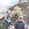 2016-09-29 Benson Tanzania Africa (Thu) Kilimanjaro Day 05 Barranco Wall - Tomboy near top 01