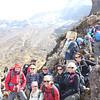 2016-09-29 Benson Tanzania Africa (Thu) Kilimanjaro Day 05 Barranco Wall - Crew Kili near top 01
