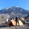 2016-09-29 Benson Tanzania Africa (Thu) Kilimanjaro Day 05 Karanga Camp - Pete Mt Kilimanjaro behind