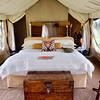 2016-10-05 Benson Tanzania Africa (Wed) Safari Serengeti - Tent interior