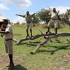 2016-10-05 Benson Tanzania Africa (Wed) Safari Serengeti - Camp Greeting video 01