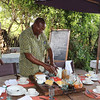 2016-10-10 Benson Tanzania Africa (Mon) Safari Day 16 Serengeti Grumeti - Preparing breakfast