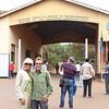 2016-10-03 Benson Tanzania Africa (Mon) Safari Day 09 Ngorongoro Crater - Jo Bob at gate