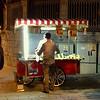 2016-10-12 Benson Istanbul Day 02 - Street vendor outside Hagia Sophia - Roasted Corn Chestnuts